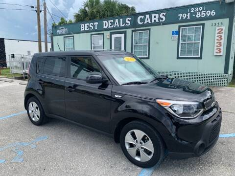 2014 Kia Soul for sale at Best Deals Cars Inc in Fort Myers FL