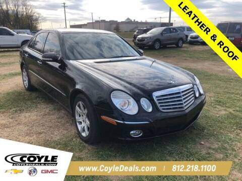 2008 Mercedes-Benz E-Class for sale at COYLE GM - COYLE NISSAN - Coyle Nissan in Clarksville IN