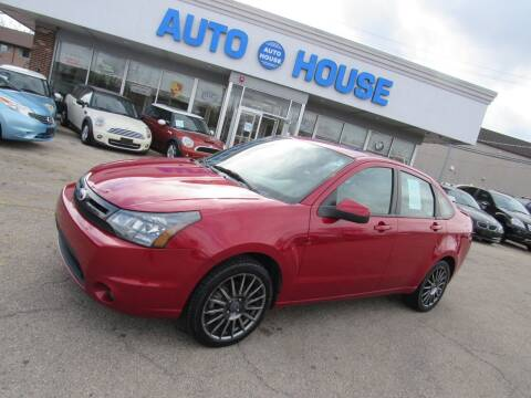 2011 Ford Focus for sale at Auto House Motors in Downers Grove IL