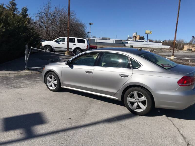 2012 Volkswagen Passat for sale at Knoxville Wholesale in Knoxville TN