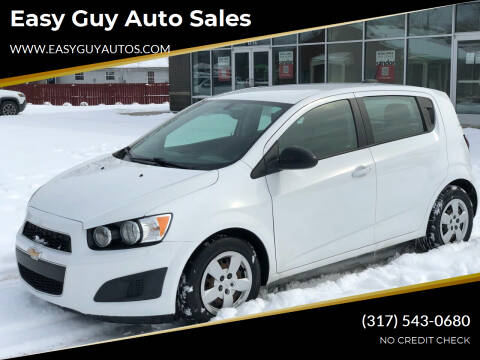 2016 Chevrolet Sonic for sale at Easy Guy Auto Sales in Indianapolis IN