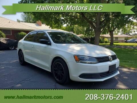 2012 Volkswagen Jetta for sale at HALLMARK MOTORS LLC in Boise ID