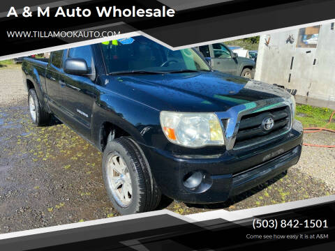 2007 Toyota Tacoma for sale at A & M Auto Wholesale in Tillamook OR