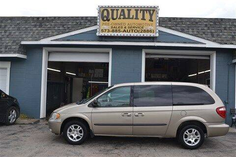 2003 Dodge Grand Caravan for sale at Quality Pre-Owned Automotive in Cuba MO