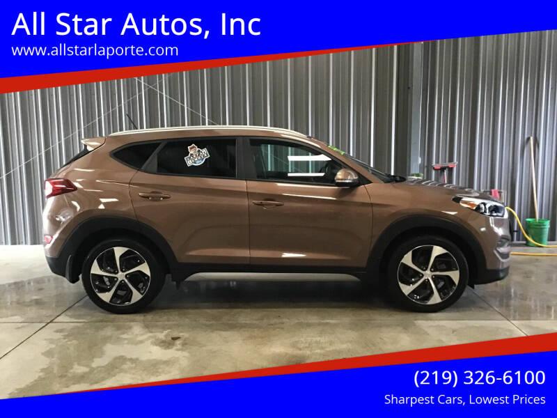 2017 Hyundai Tucson for sale at All Star Autos, Inc in La Porte IN
