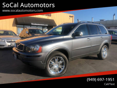 2007 Volvo XC90 for sale at SoCal Automotors in Costa Mesa CA