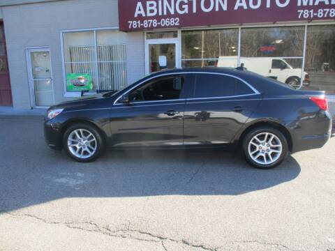 2013 Chevrolet Malibu for sale at Abington Auto Mall LLC in Abington MA
