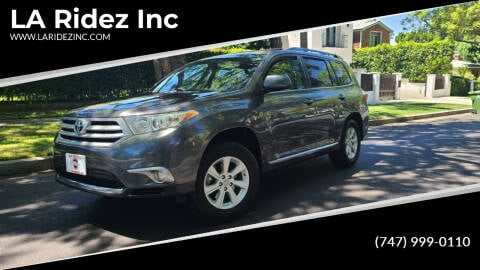 2011 Toyota Highlander for sale at LA Ridez Inc in North Hollywood CA