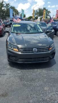 2017 Volkswagen Passat for sale at Navarro Auto Motors in Hialeah FL