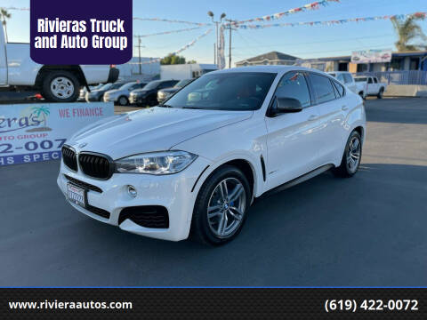 2017 BMW X6 for sale at Rivieras Truck and Auto Group in Chula Vista CA
