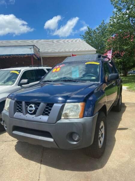 2008 Nissan Xterra for sale at Top Auto Sales in Petersburg VA