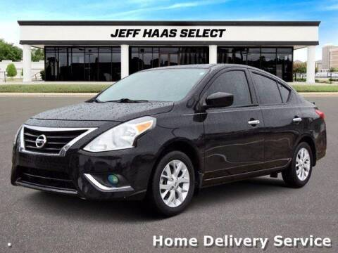 2019 Nissan Versa for sale at JEFF HAAS MAZDA in Houston TX