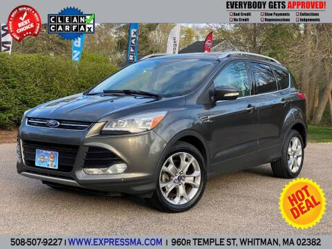 2016 Ford Escape for sale at Auto Sales Express in Whitman MA