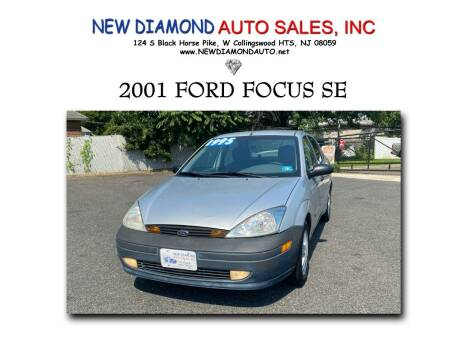 2001 Ford Focus for sale at New Diamond Auto Sales, INC in West Collingswood Heights NJ
