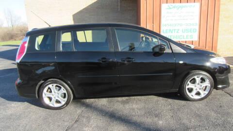 2008 Mazda MAZDA5 for sale at LENTZ USED VEHICLES INC in Waldo WI
