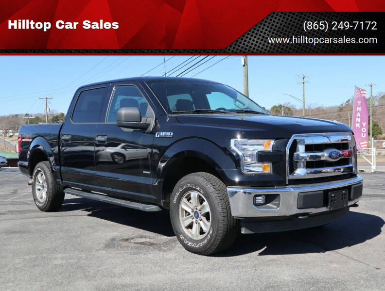 2017 Ford F-150 for sale at Hilltop Car Sales in Knox TN