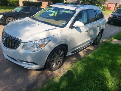 2016 Buick Enclave for sale at DFW AUTO FINANCING LLC in Dallas TX