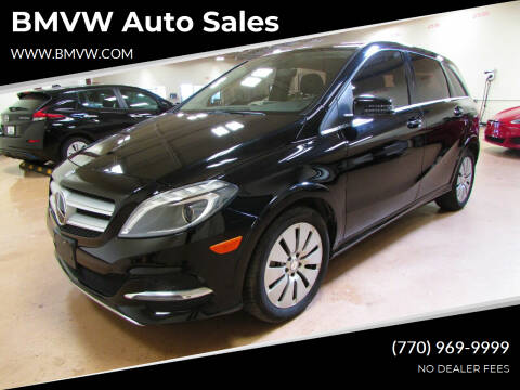 2014 Mercedes-Benz B-Class for sale at BMVW Auto Sales - Electric Vehicles in Union City GA