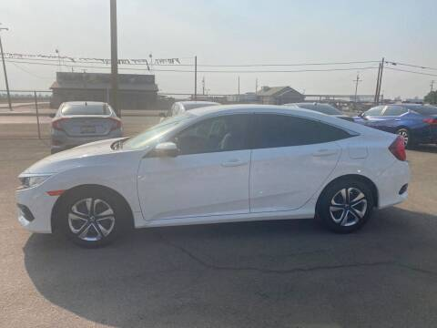 2017 Honda Civic for sale at First Choice Auto Sales in Bakersfield CA
