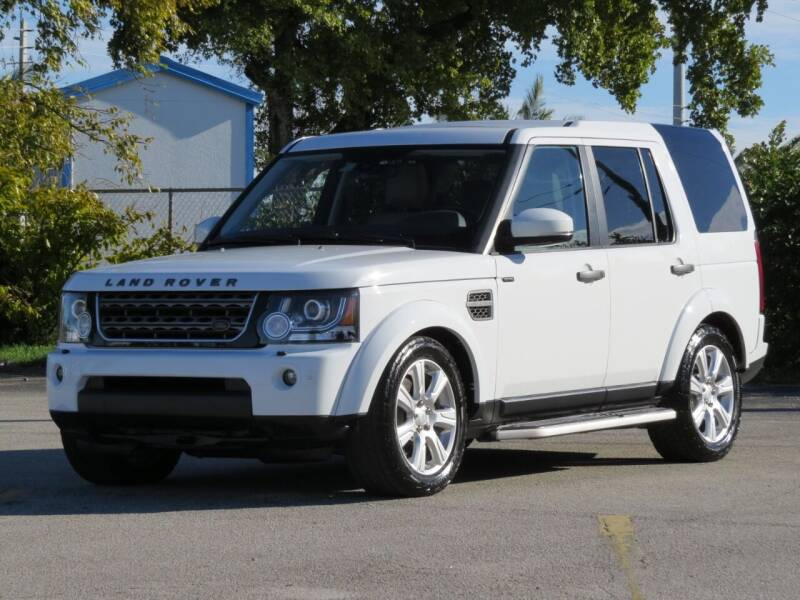 2016 Land Rover LR4 for sale at DK Auto Sales in Hollywood FL