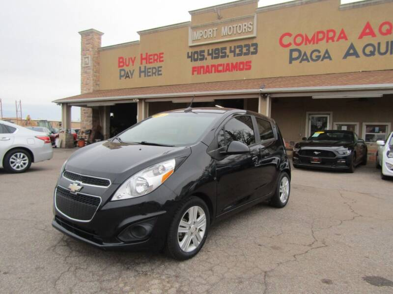 2014 Chevrolet Spark for sale at Import Motors in Bethany OK