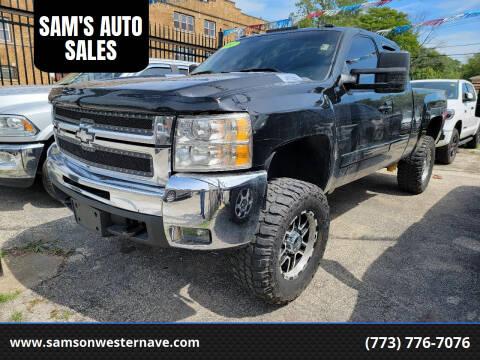 2007 Chevrolet Silverado 2500HD for sale at SAM'S AUTO SALES in Chicago IL