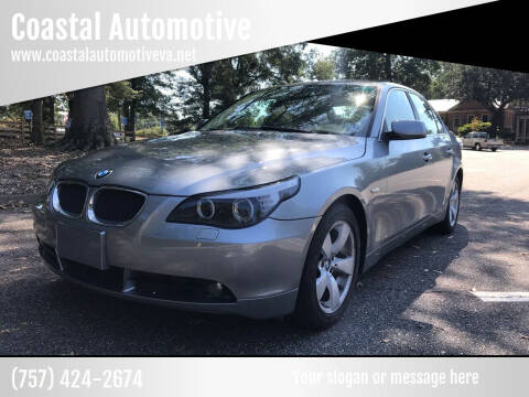 2005 BMW 5 Series for sale at Coastal Automotive in Virginia Beach VA