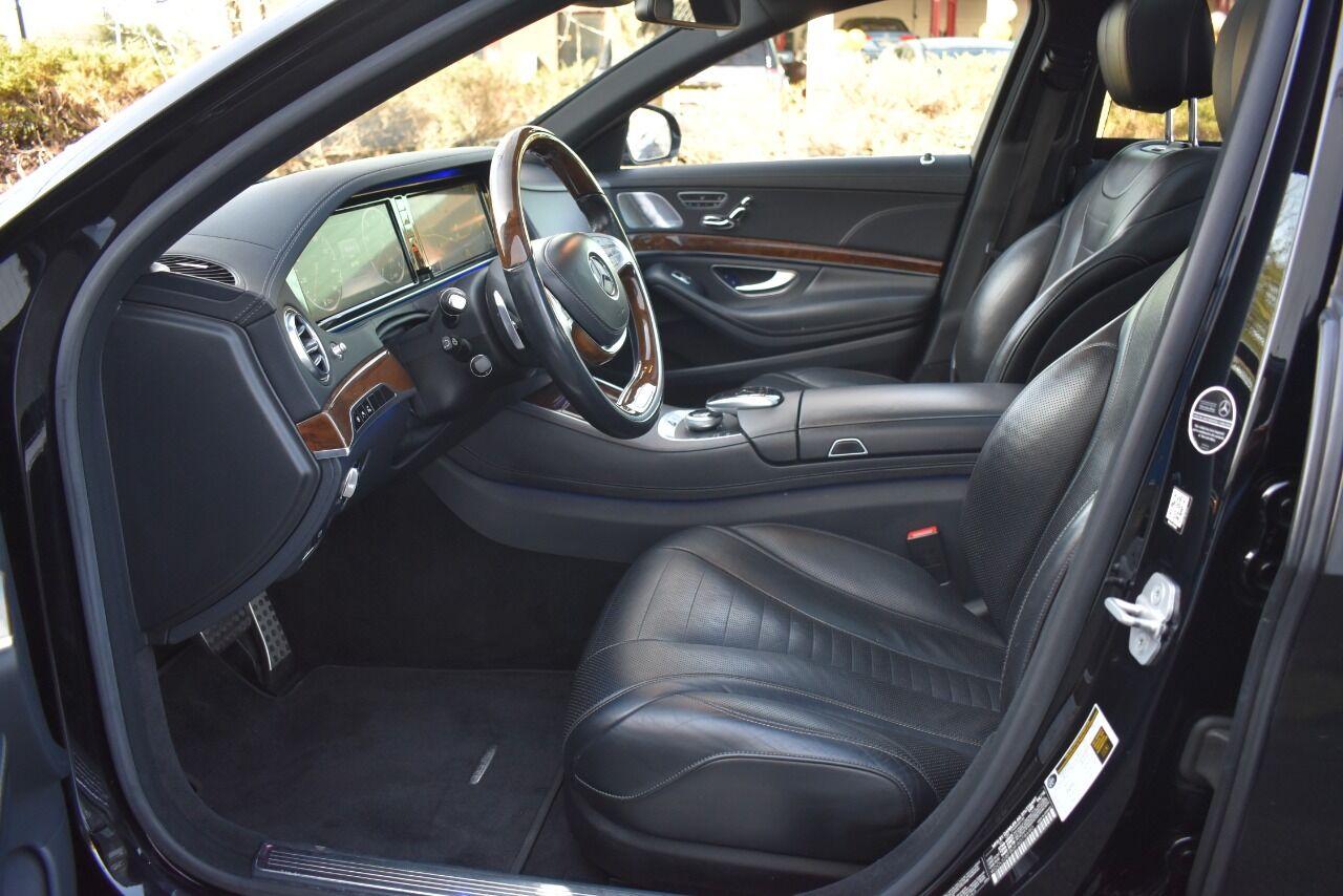 2015 Mercedes-Benz S-Class S 550 4MATIC AWD 4dr Sedan full