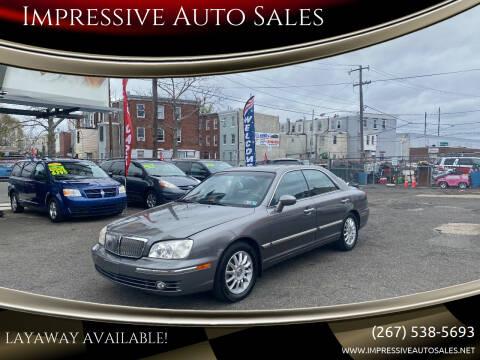 2004 Hyundai XG350 for sale at Impressive Auto Sales in Philadelphia PA