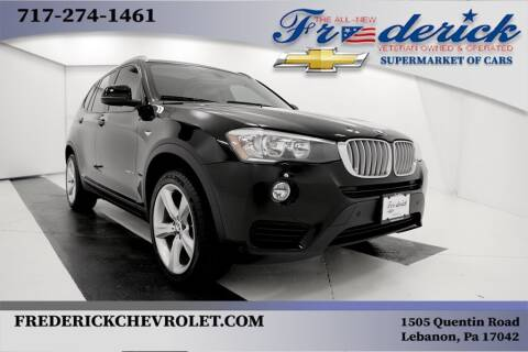 2017 BMW X3 for sale at Lancaster Pre-Owned in Lancaster PA