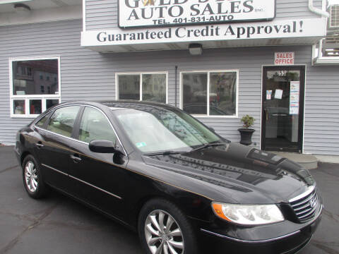 2007 Hyundai Azera for sale at Gold Star Auto Sales in Johnston RI