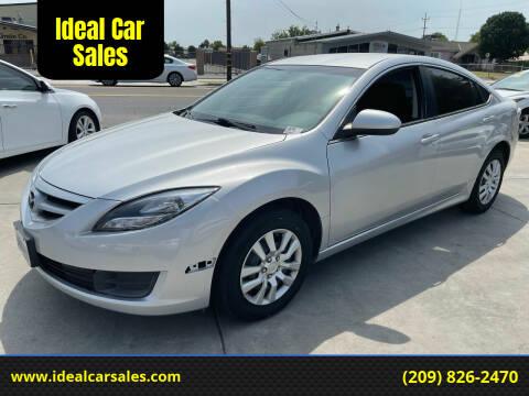 2012 Mazda MAZDA6 for sale at Ideal Car Sales in Los Banos CA
