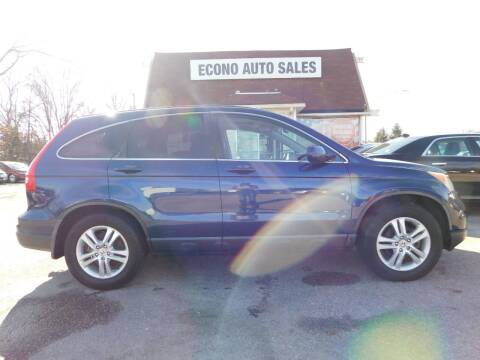 2010 Honda CR-V for sale at Econo Auto Sales Inc in Raleigh NC