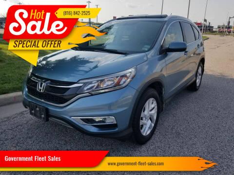 2016 Honda CR-V for sale at Government Fleet Sales in Kansas City MO
