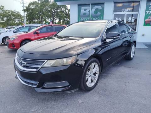 2014 Chevrolet Impala for sale at BC Motors PSL in West Palm Beach FL