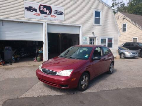2005 Ford Focus for sale at E & K Automotive in Derry NH