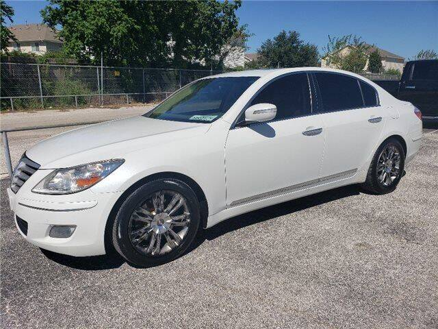 2009 Hyundai Genesis for sale at Hidalgo Motors Co in Houston TX