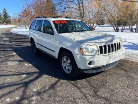 2007 Jeep Grand Cherokee for sale at BELOW BOOK AUTO SALES in Idaho Falls ID