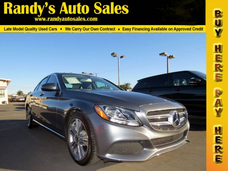 2017 Mercedes-Benz C-Class for sale at Randy's Auto Sales in Ontario CA