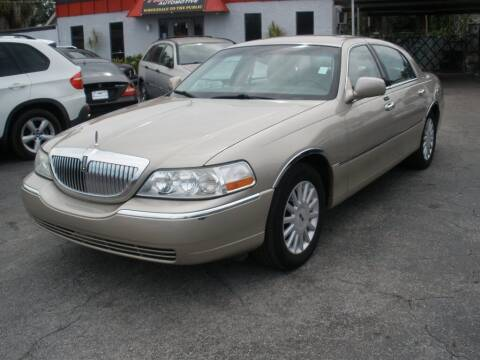 2005 Lincoln Town Car for sale at Priceline Automotive in Tampa FL