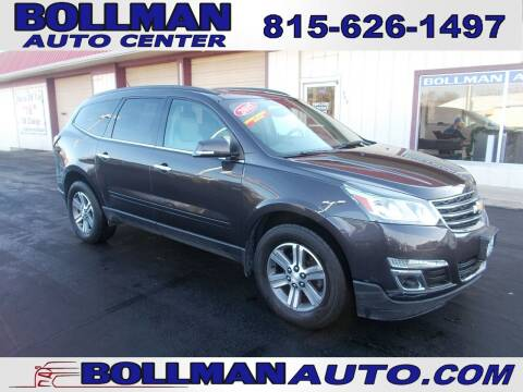 2015 Chevrolet Traverse for sale at Bollman Auto Center in Rock Falls IL