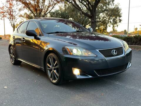 2008 Lexus IS 250 for sale at COUNTY AUTO SALES in Rocklin CA
