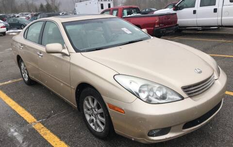 2003 Lexus ES 300 for sale at Trocci's Auto Sales in West Pittsburg PA