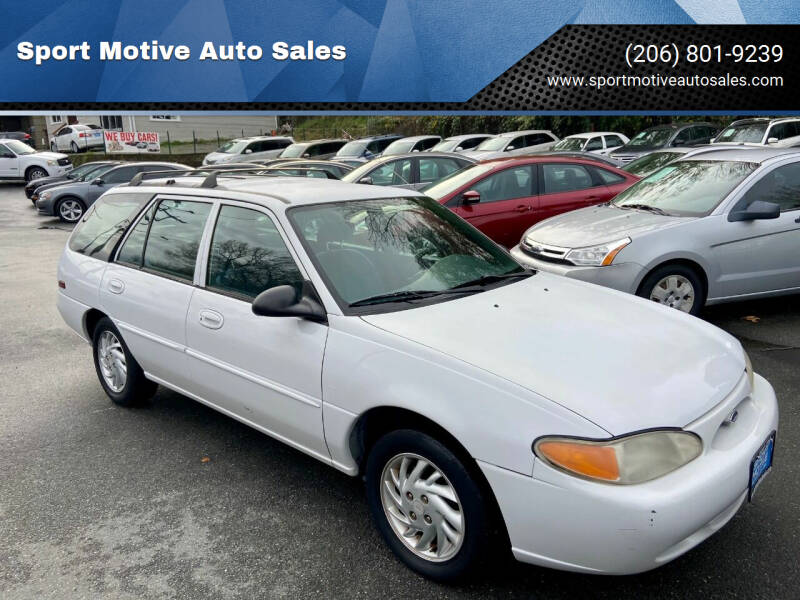 1999 Ford Escort for sale at Sport Motive Auto Sales in Seattle WA