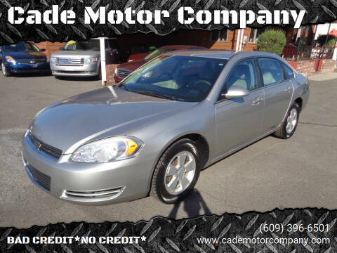 2008 Chevrolet Impala for sale at Cade Motor Company in Lawrenceville NJ
