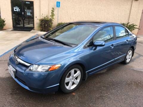2007 Honda Civic for sale at MSR Auto Inc in San Diego CA