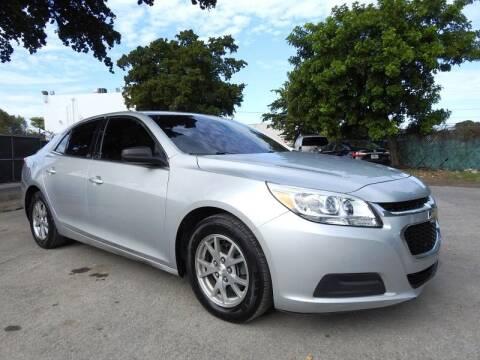 2014 Chevrolet Malibu for sale at SUPER DEAL MOTORS 441 in Hollywood FL