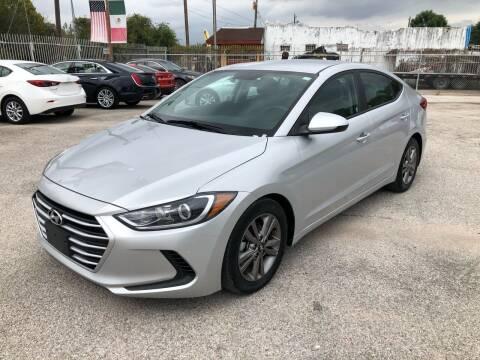 2018 Hyundai Elantra for sale at Saipan Auto Sales in Houston TX