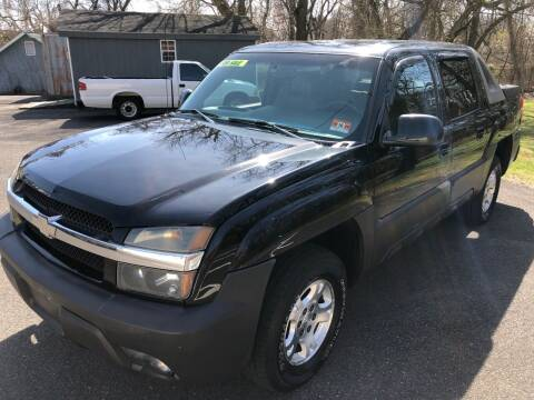 2003 Chevrolet Avalanche for sale at Perfect Choice Auto in Trenton NJ