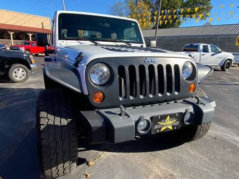 2012 Jeep Wrangler for sale at Auto Exchange in The Plains OH